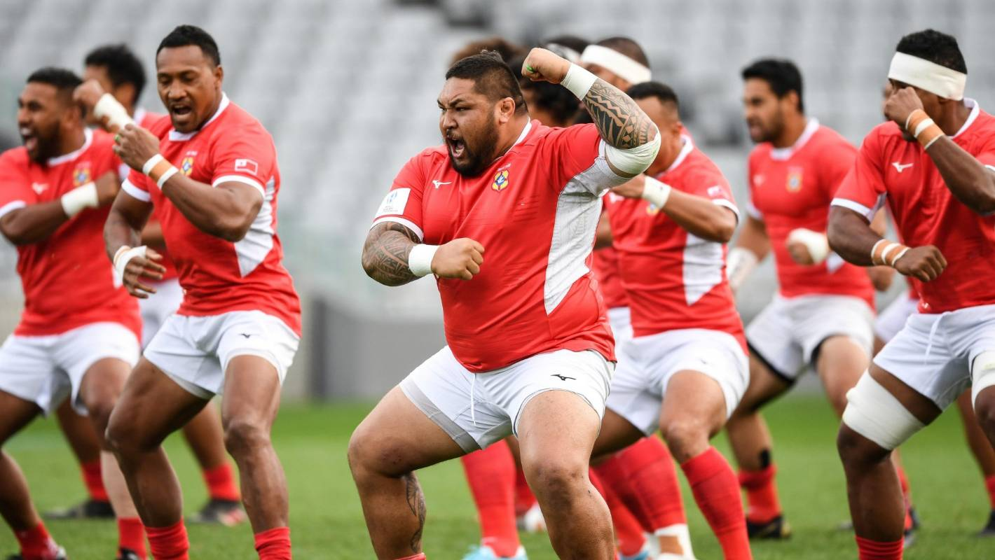 Rugby World Cup: Tonga out to 'shock the world' in 'David vs Goliath' All Blacks test