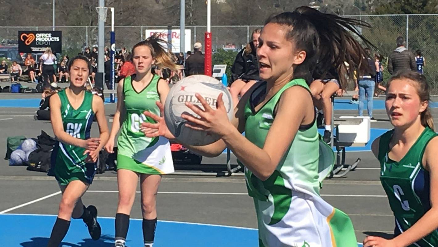Silver Ferns stop by but young talent shines at South Island secondary school champs