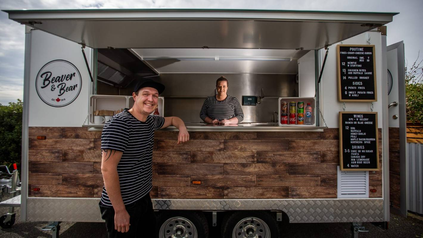 Palmerston North couple cook up Canadian-themed food truck