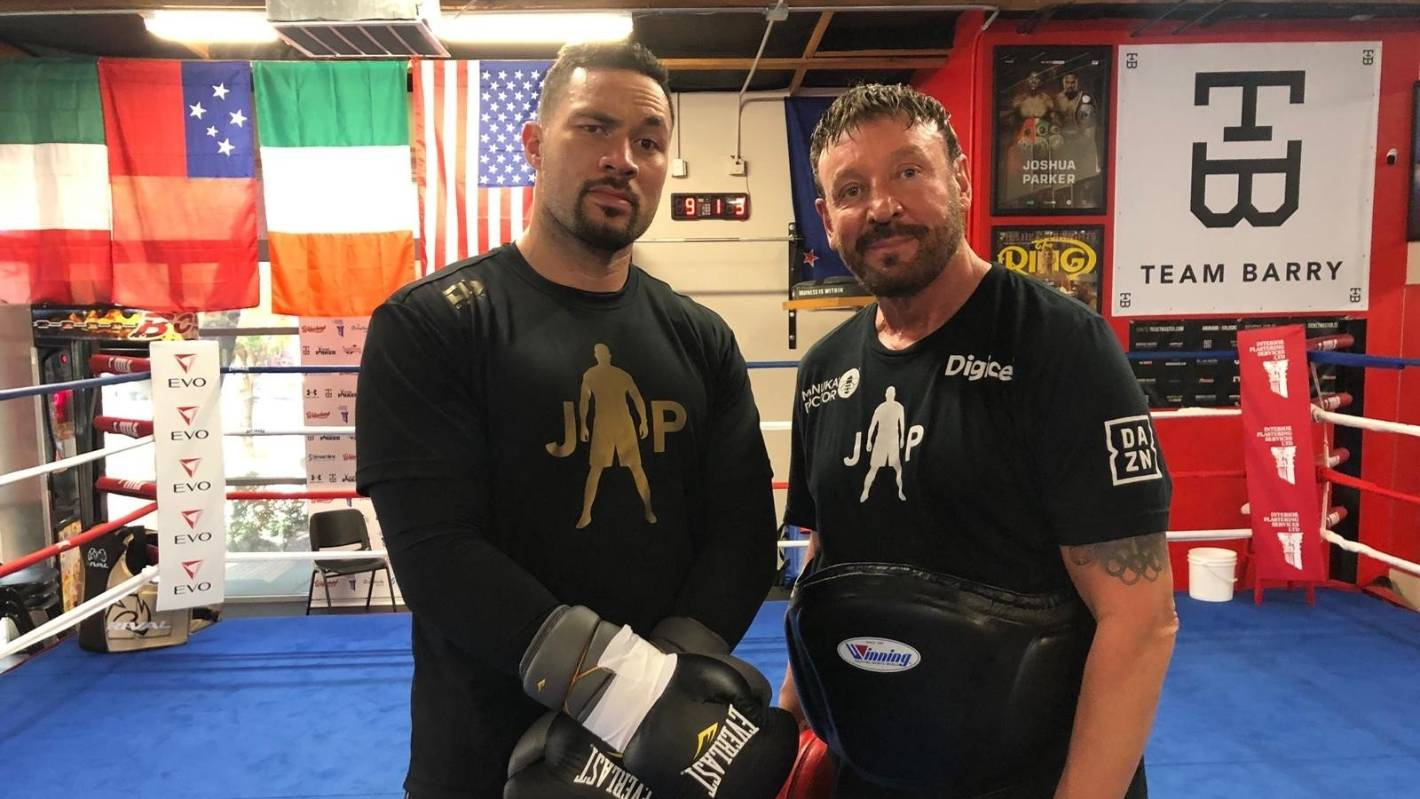 Joseph Parker back training, eager to fight after health setback