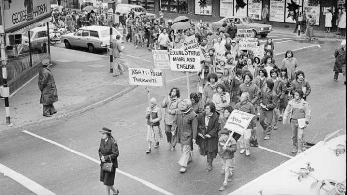 Remembering the battle to get recognition for te reo Māori
