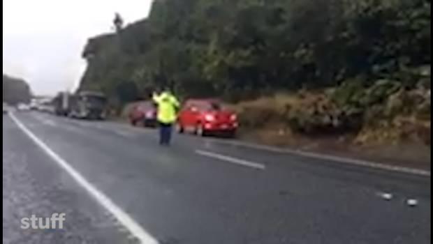 Five tourists killed in bus rollover crash near Rotorua