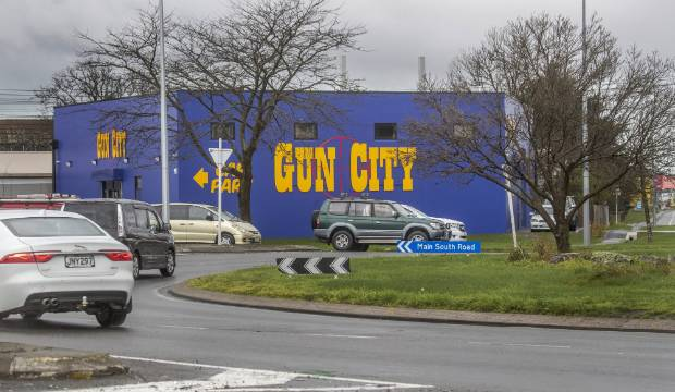 Gun City owner admits 'no progress' changing controversial signage