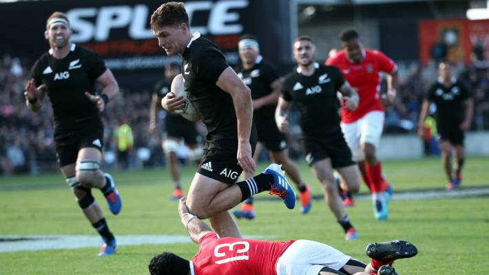 Rugby World Cup: George Bridge taking All Blacks rise firmly