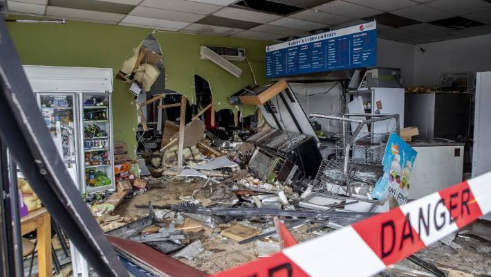 Car crashes through Christchurch bakery, driver runs away