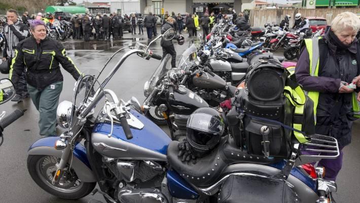 Motorcycles flood Manawatū for good causes   Stuff co nz