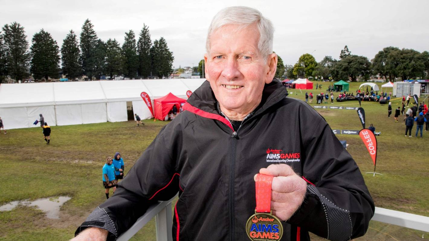 AIMS Games celebrates rugby stalwart and All Black mentor Ian Spraggon