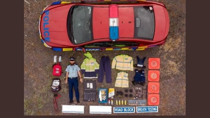 A cop car challenge? Following the Dutch, Kiwi police share