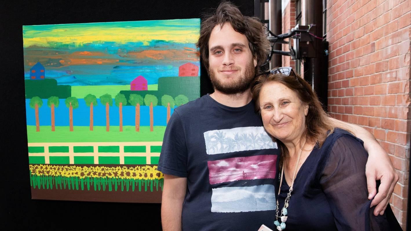 Raglan artist and environmental campaigner Yaniv Janson earns top award
