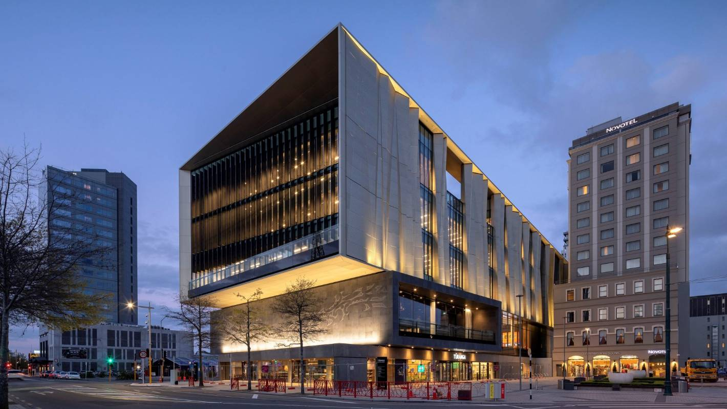Christchurch's $92.7m Turanga central library scoops a building technology award