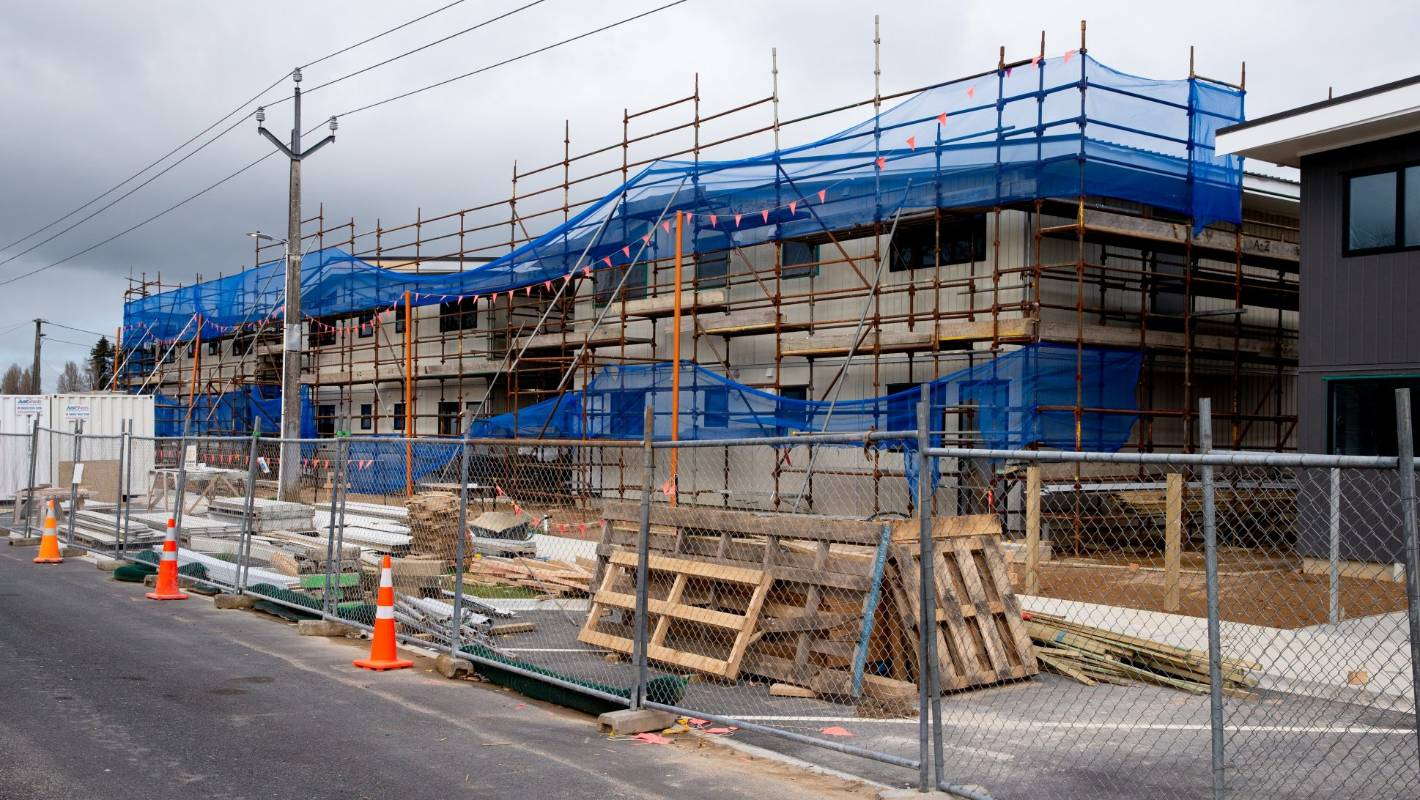 Slum regeneration delayed after construction firm liquidated