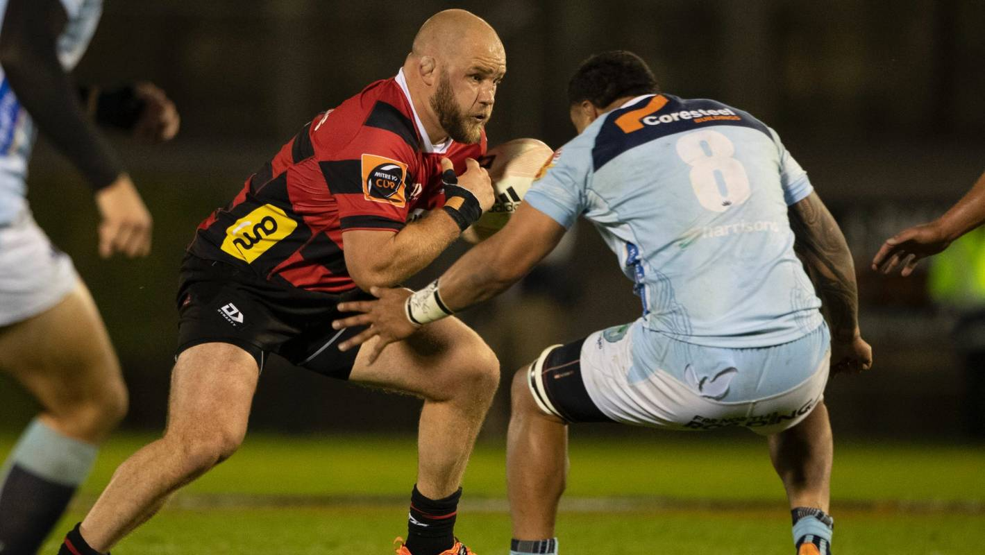 Mitre 10 Cup: Owen Franks impresses as Canterbury overpower Northland