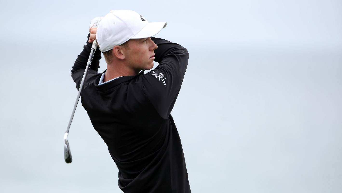 Birdie rush can't stop Kiwi golfer Daniel Hillier missing cut in first pro event