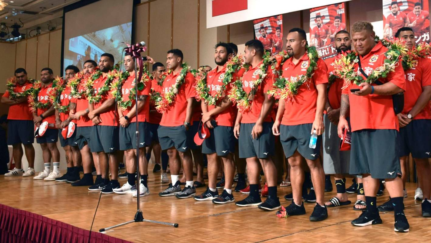 Rugby World Cup: Tonga provide the inflight entertainment, in cattle class