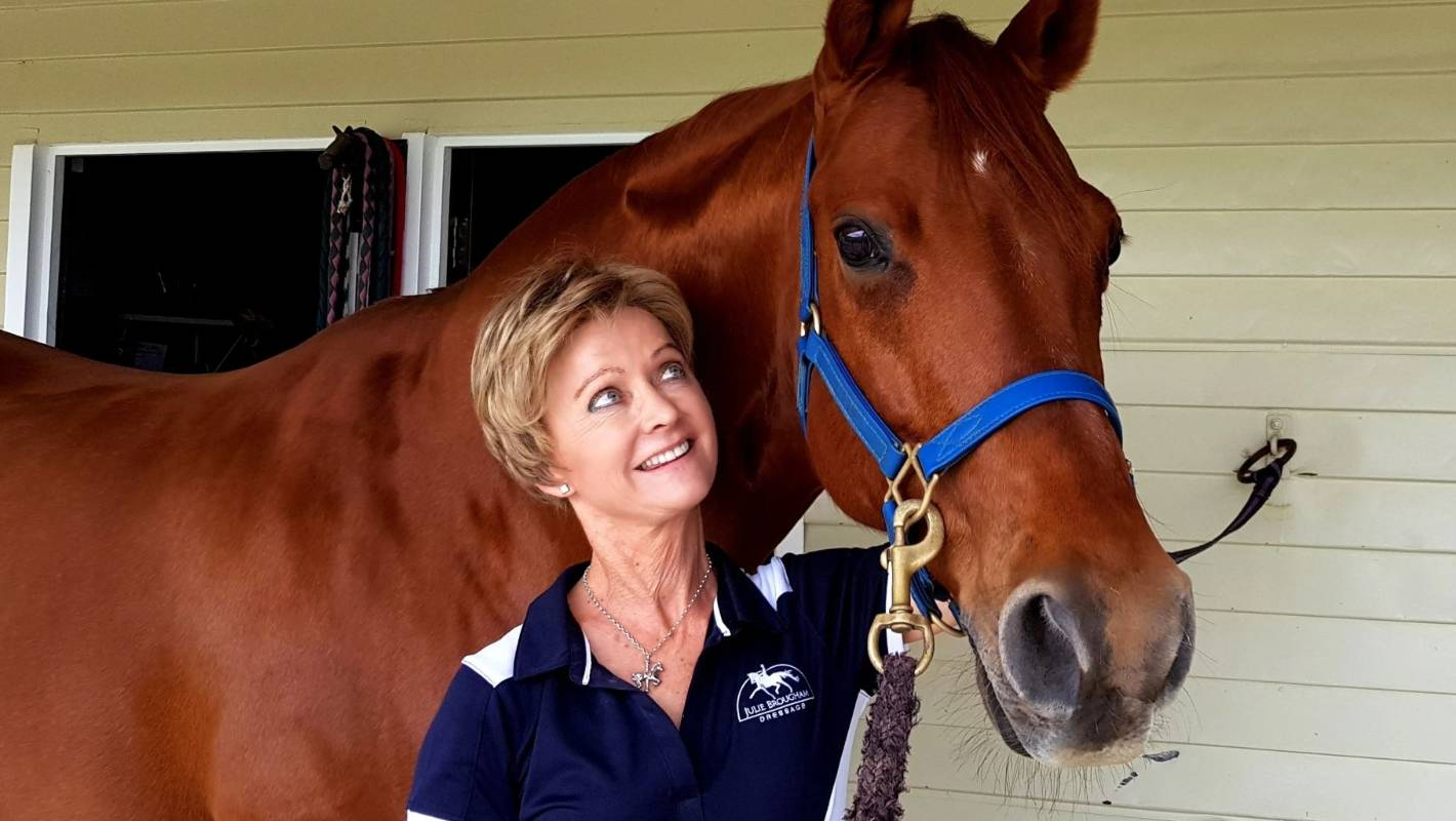 Olympian Julie Brougham back in the saddle after cancer ordeal