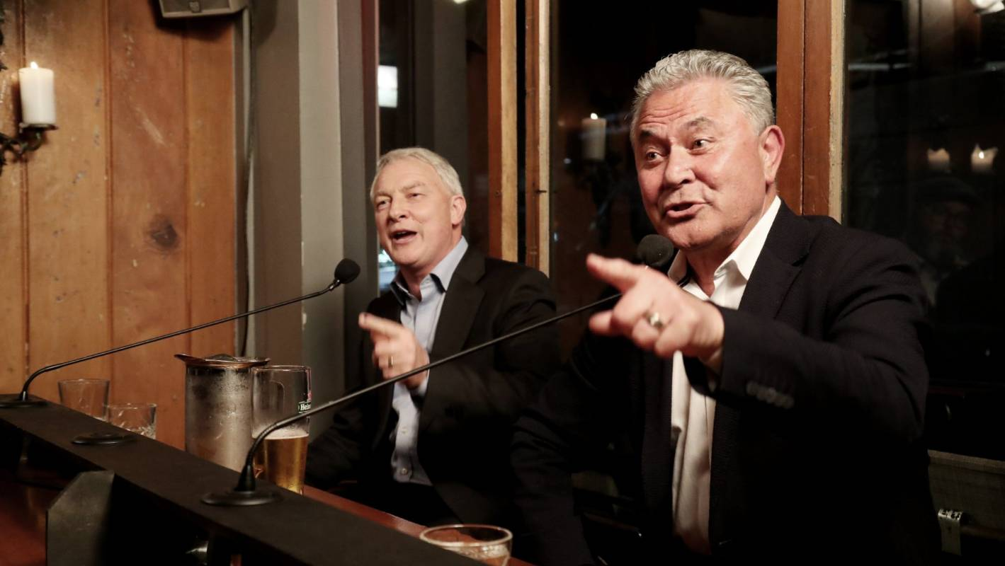 Auckland mayoral debate: Tamihere's Nazi slogan moment made as voting begins