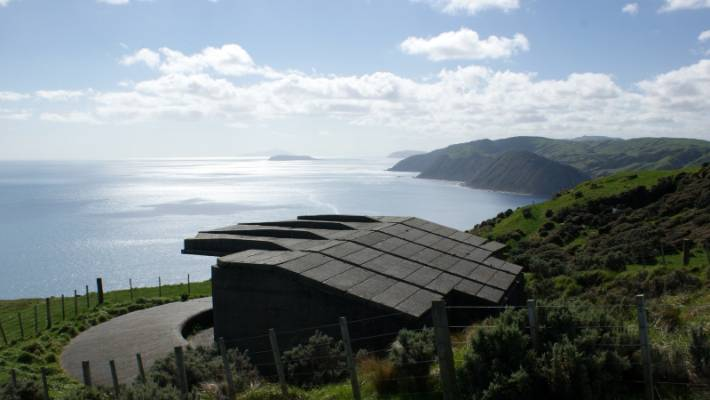 The first failed attempts to record atmospheric Co2 in New Zealand were made at Fort Opau, a gun emplacement built in 1941 to protect the Wellington harbour.