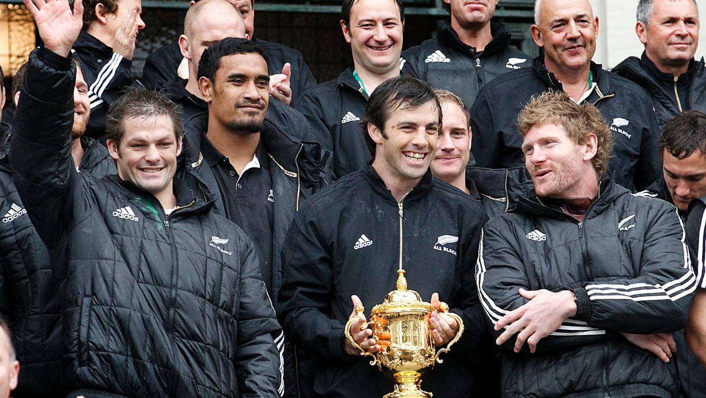 How we won the Rugby World Cup, Conrad Smith 2011