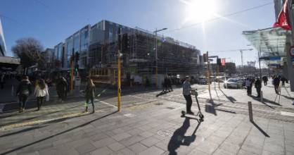 ChristchurchNZ's latest economic report has raised warnings of a stalling regeneration in the central city.
