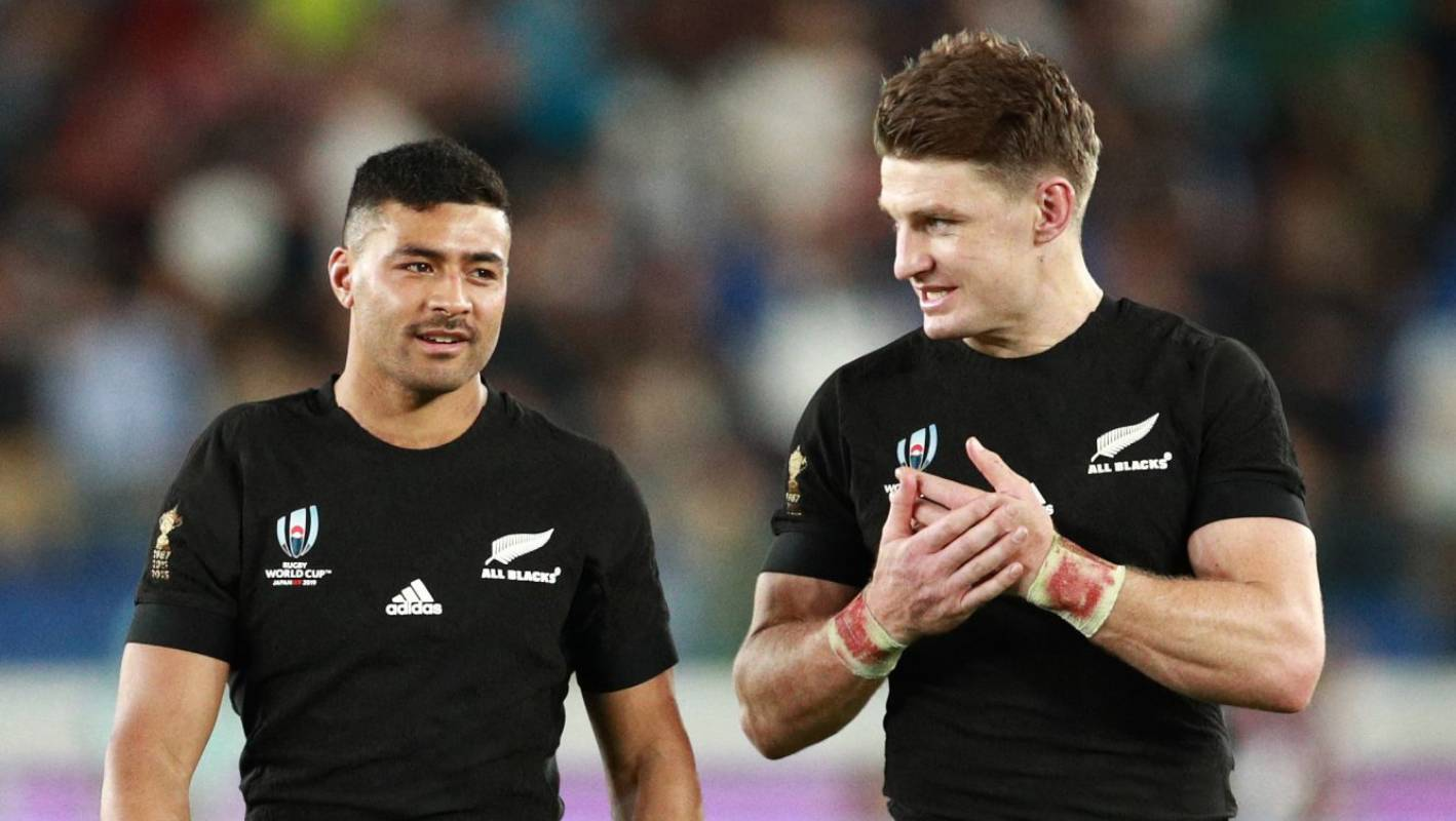 Rugby World Cup: Beauden Barrett says 'Bo'unga' is only going to get better