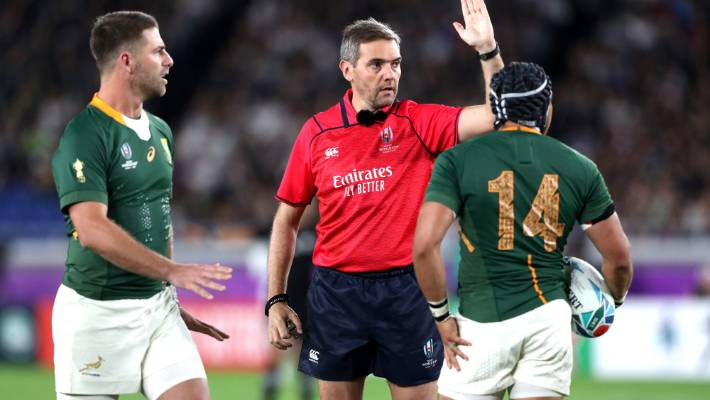 Rugby World Cup 2019 World Rugby Rounds On Refs After Opening Round Controversies Stuff Co Nz