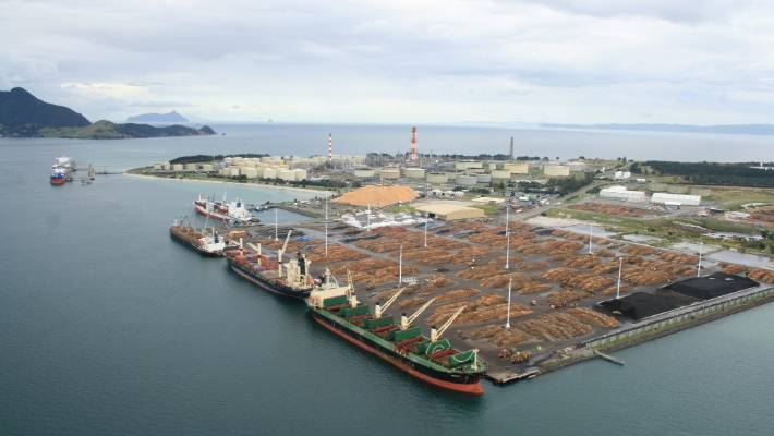 Northport, near Whangārei, could be set for expansion if plans to move Auckland port activity to the northern city.