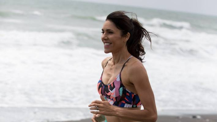 Lisa Tamati has run around the world, but she hasn't raced for three years as she dealt with her mother's recovery from an aneurysm.