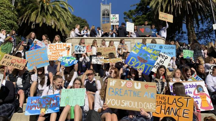 New Zealand announces plans to remove tariffs on solar panels and wind turbines, but an expert warns other countries will need to embrace green technologies within nine years to reach zero carbon goals.