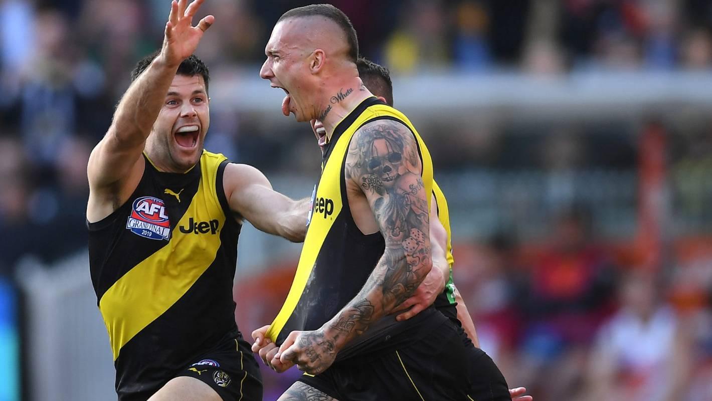 AFL: Richmond Tigers thrash Greater Western Sydney in grand final
