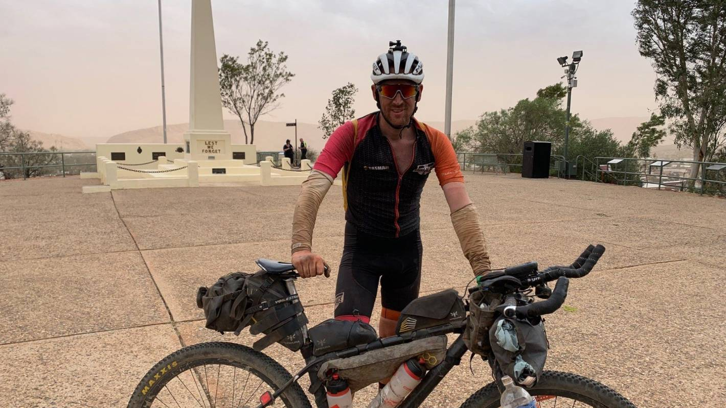 Ultra bike race tests Kiwi to his limits