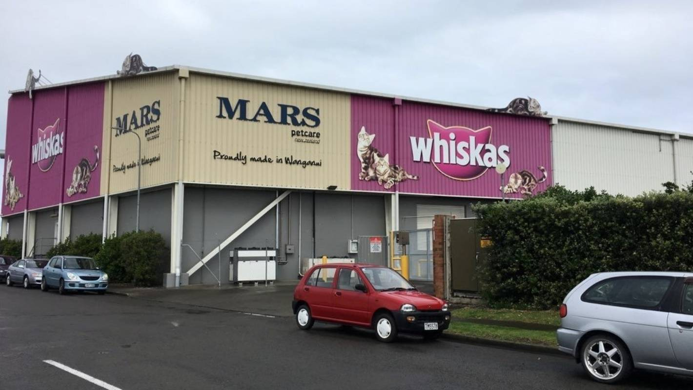 Mars proposes Whanganui factory closure, putting 152 jobs on the line