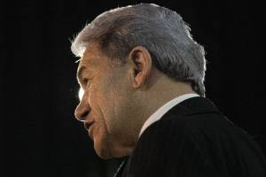 Winston Peters is the longest-serving MP in parliament, first entering following the 1978 general election.