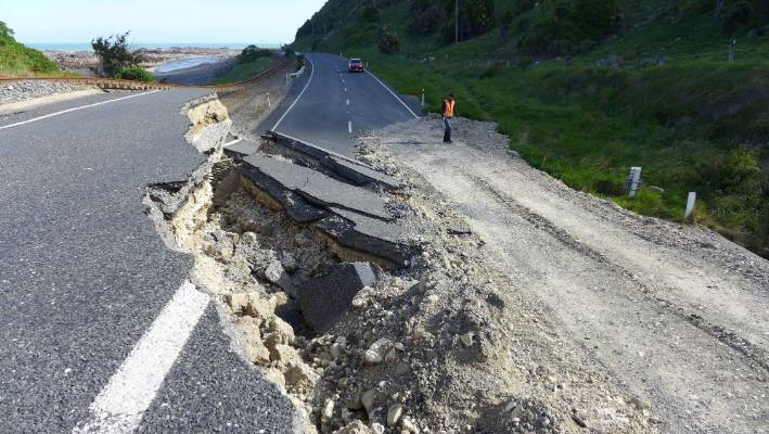 The Papatea Fault shunted a large area of mountainous country up by 8m during the Kaikōura earthquake.