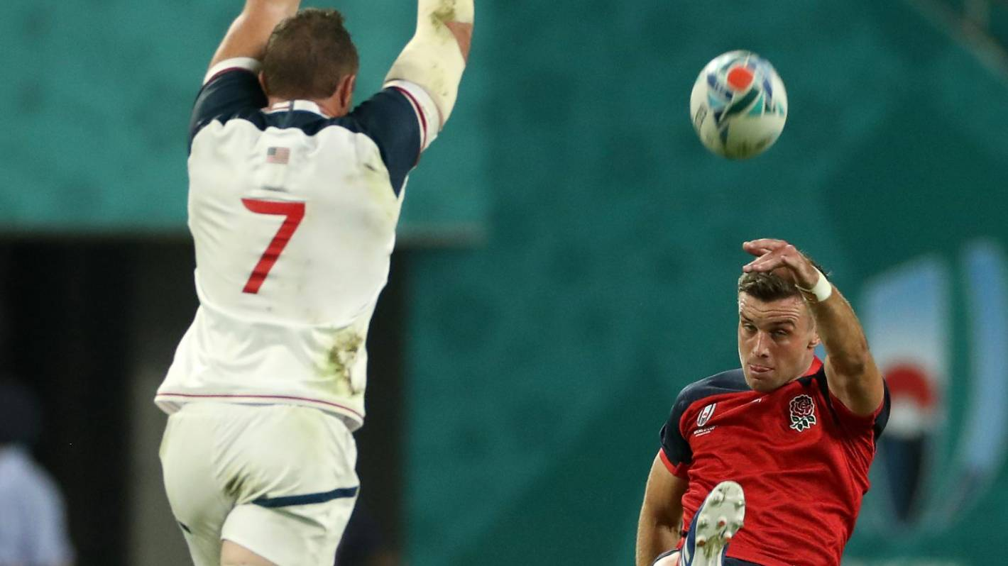All Blacks could come unstuck against aerially astute opponents at RWC such as England