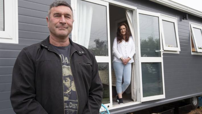 Moutere resident Nick Hughes is fighting the TDC over their classification of his mobile Tiny Home as a permanent residence.
