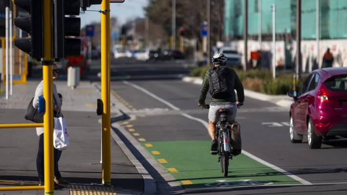 The Christchurch City Council has eight of 13 planned cycleways already open or partially open.