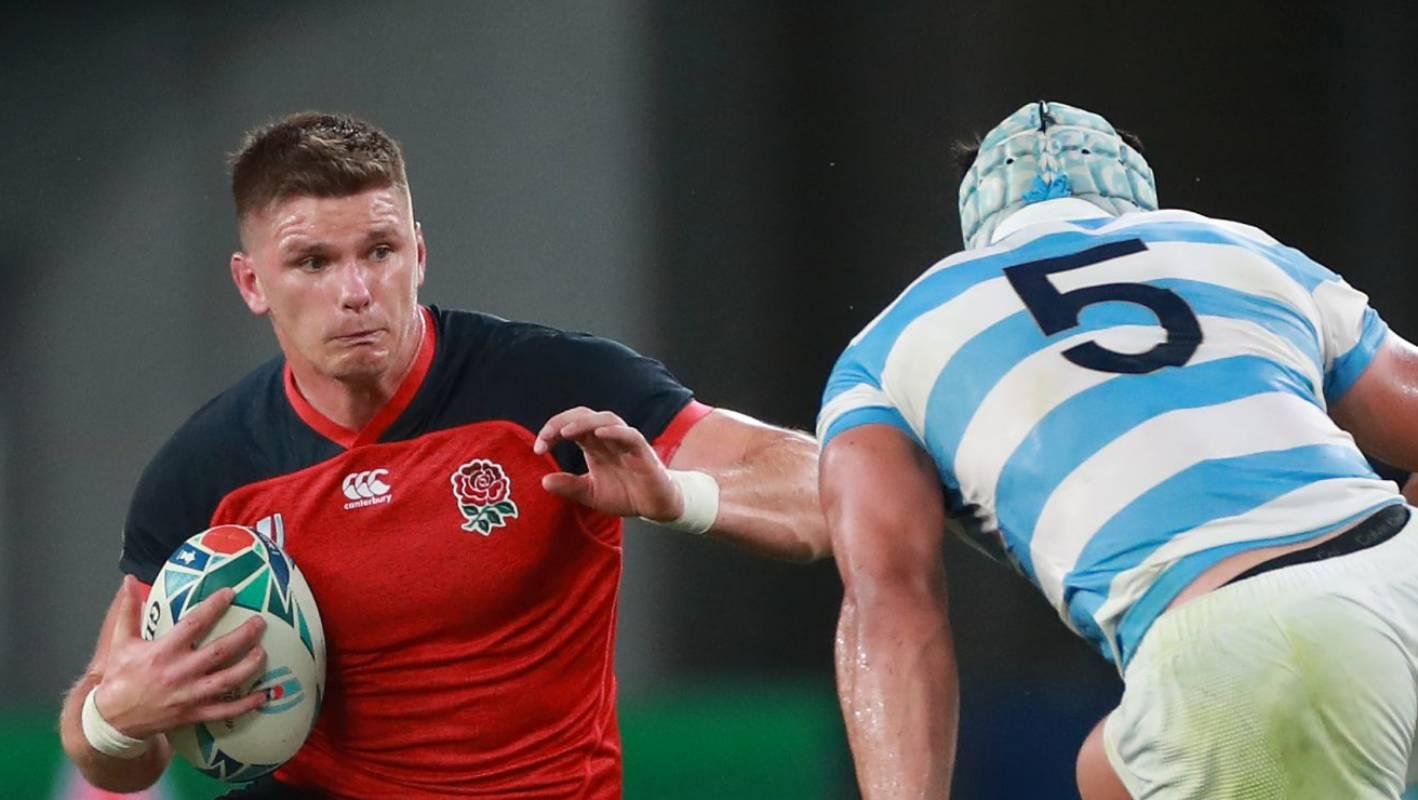 Australia v England: Eddie Jones names his Rugby World Cup quarterfinal team