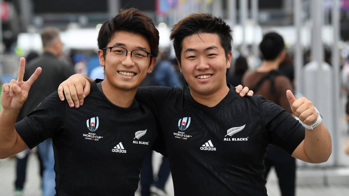Adidas All Blacks Rugby World Cup Y 3 Anthem Polo Shirt