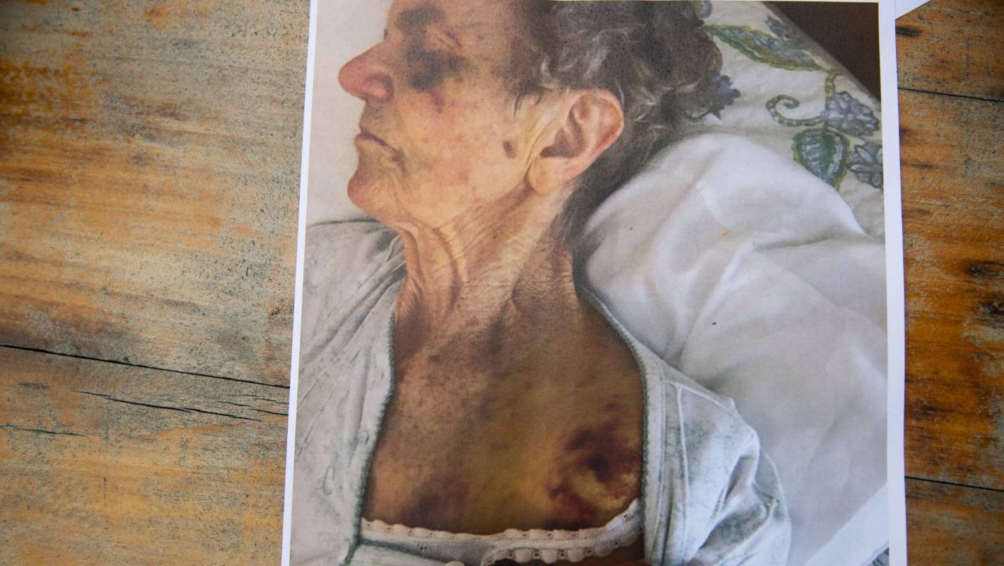 The family of an elderly woman who died after suffering injuries at a rest home want answers