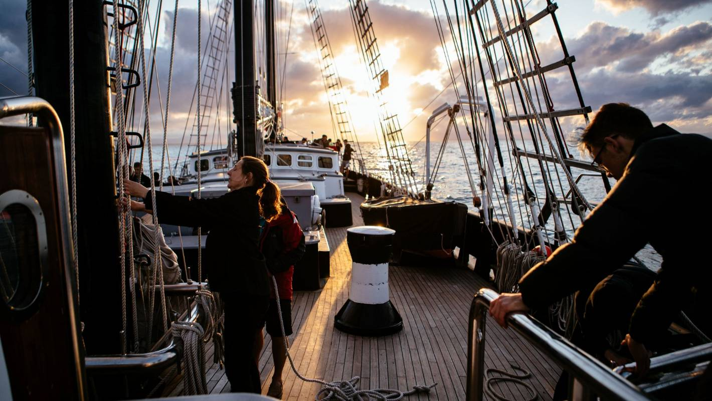 Tuia 250: I spent five days in a squeaky boat