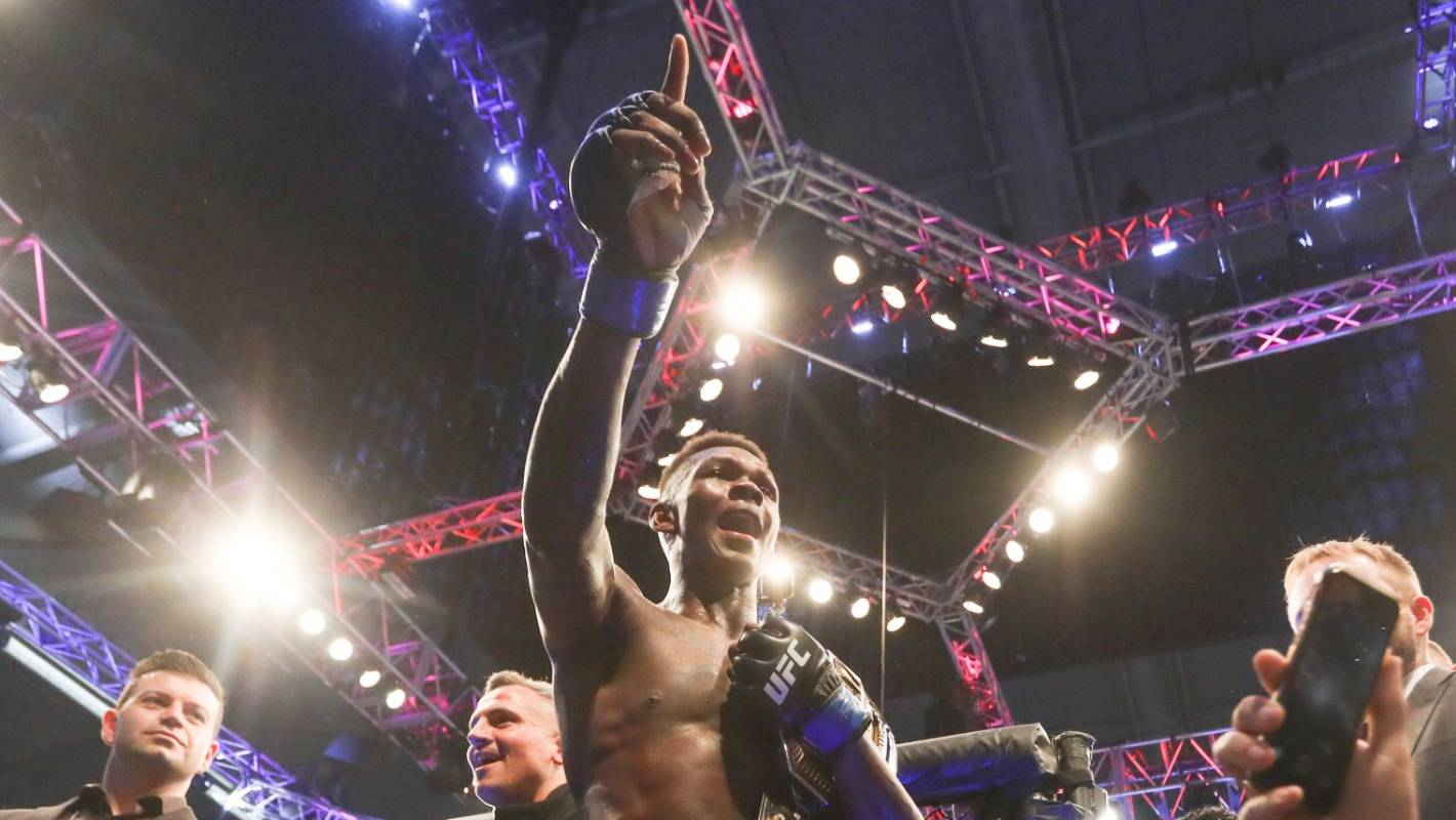 UFC: Israel Adesanya buys the near-perfect sports car and then jokes about crashing it