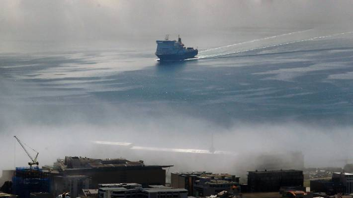 Shipping has been highlighted by the Ministry for the Environment as an emerging issue, but the country has no regulation on air quality from ships.