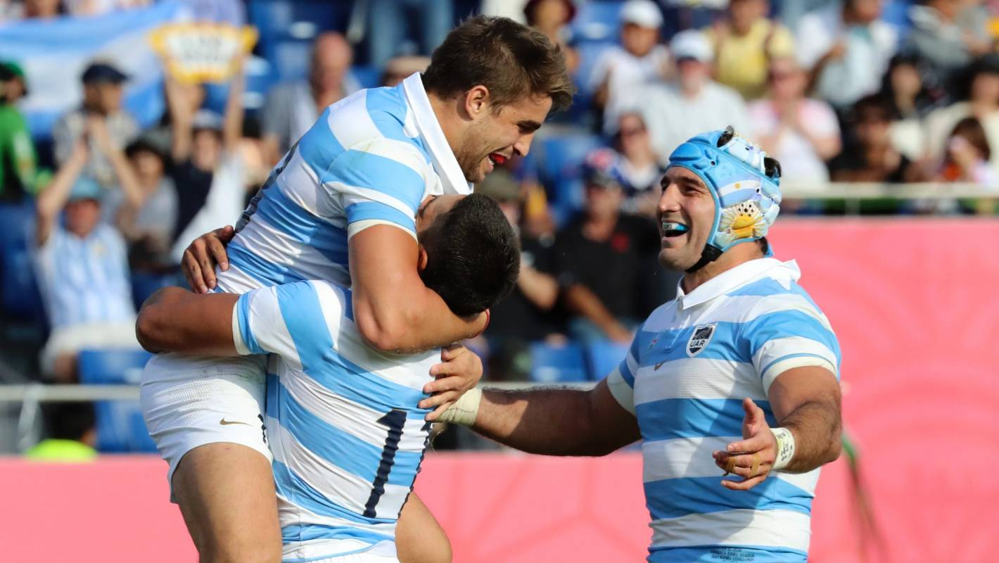 Rugby World Cup: Argentina finish campaign with flurry of tries against USA