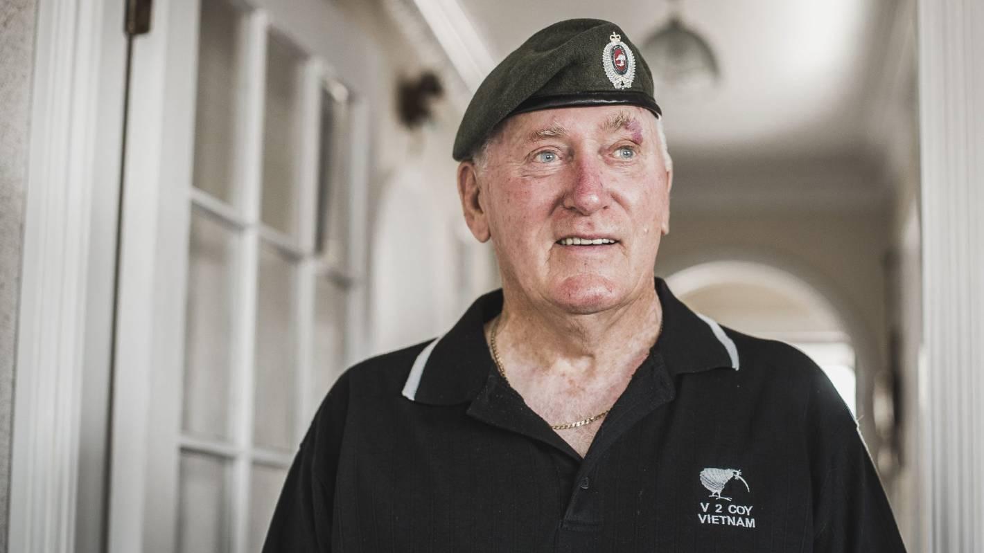 Vietnam veteran urges old comrades to seek overdue medical help