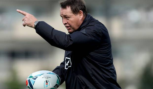 All Blacks coach Steve Hansen's brazen Rugby World Cup plan put to test in Japan