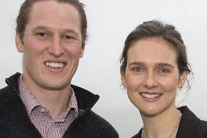 Scott Cameron and Alexandra Tully are creating a lending platform to earn farmers cash for unused equipment.
