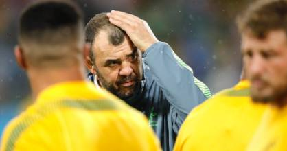 Rumour has it Wallabies coach Michael Cheika's temper has become increasingly volcanic in recent months.
