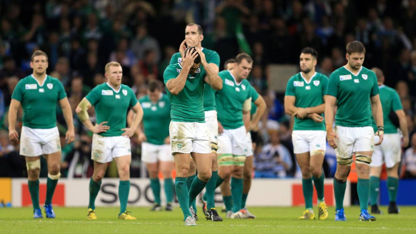 Ireland's sorry tale in Rugby World Cup playoff games: Played seven, lost seven