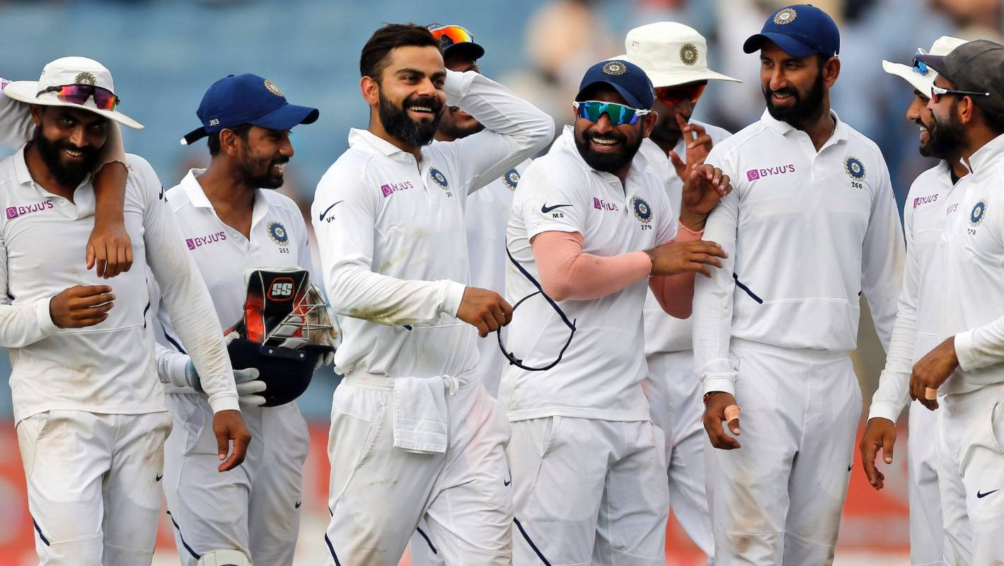 India break Australia's record for most consecutive test series wins at home