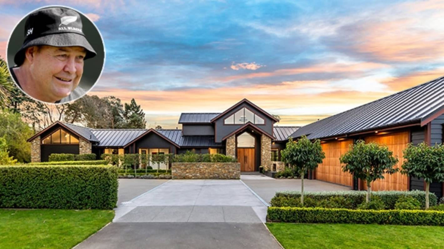 Inside All Blacks coach Steve Hansen's $2.6 million Canterbury lifestyle block home